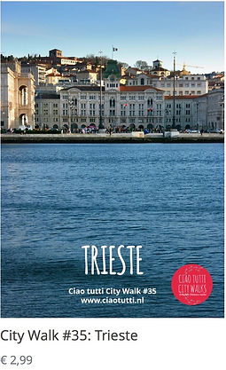 Make a city walk through Trieste