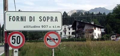 Welkom in Forni di Sopra