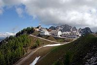 Het bedevaartsoort Monte Lussari