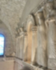 Innerseite der Tempietto Longobardo