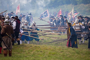 The historical re-enactment
