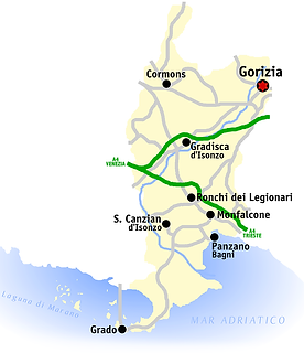 The province of Gorizia