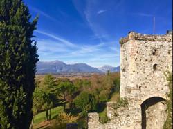 Uitzicht vanaf Kasteel d'Arcano