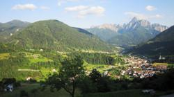 The surroundings of Zuglio