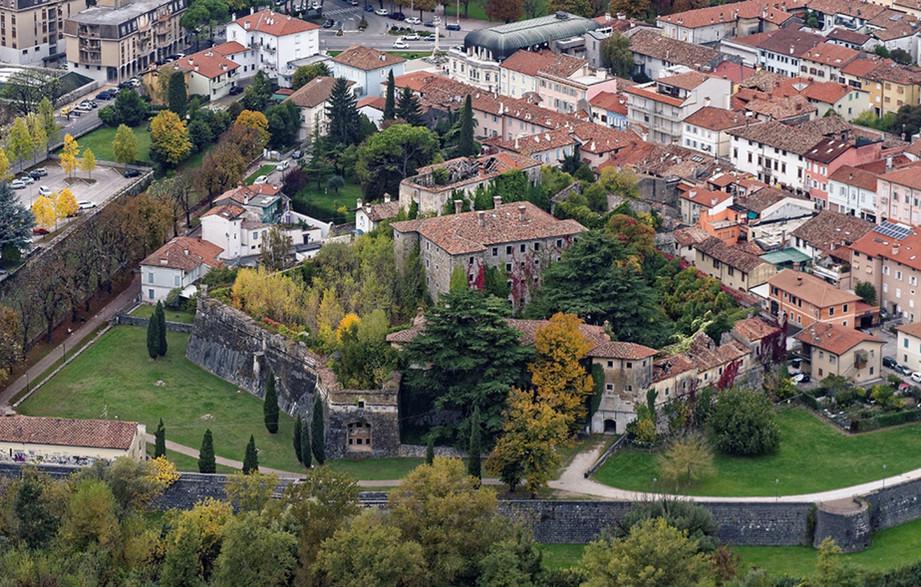 Luchtfoto Fort van Gradisca