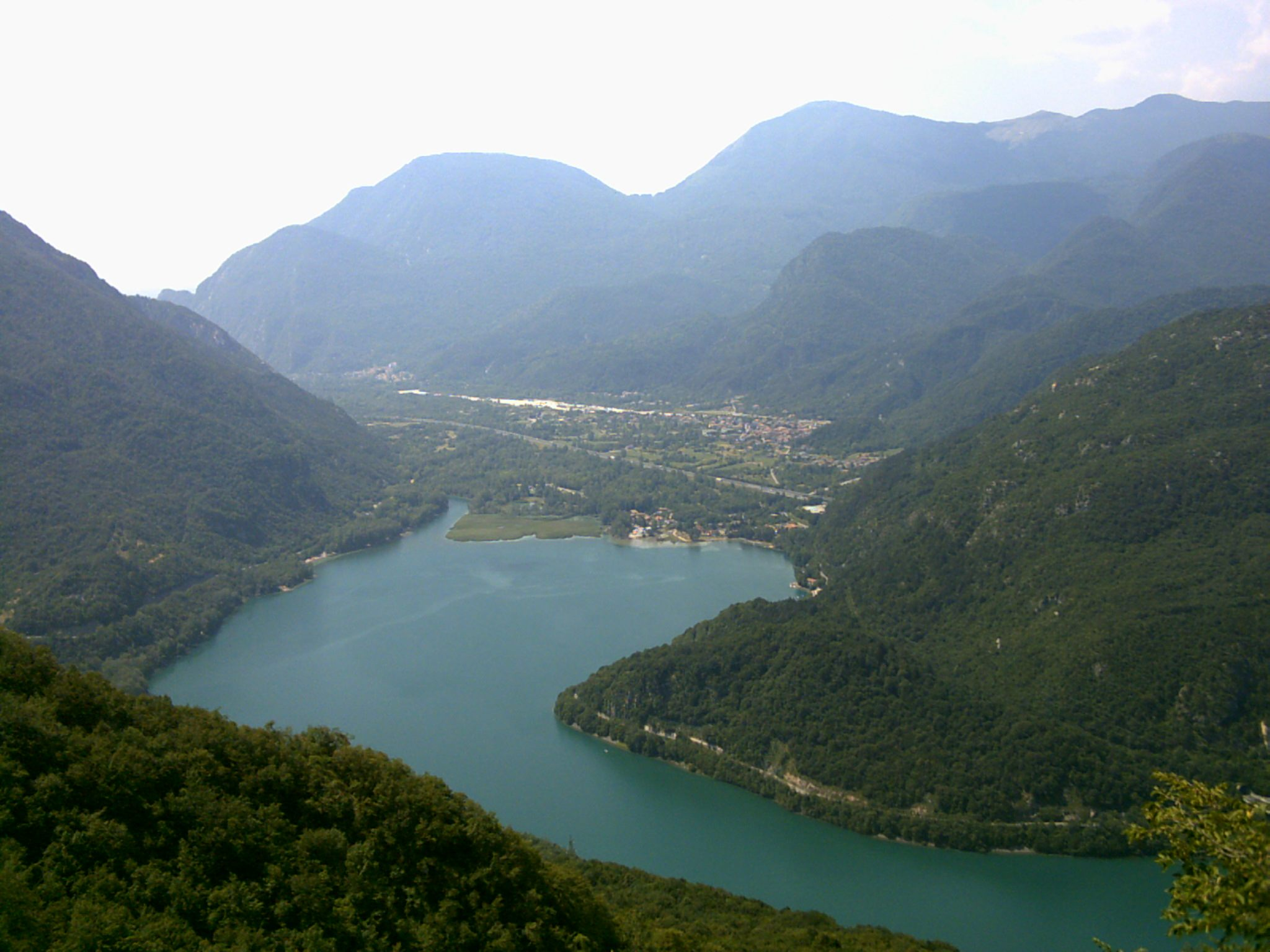 The Cavazzo lake