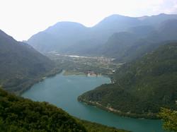 The Cavazzo lake