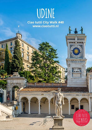 Make a city walk through Udine