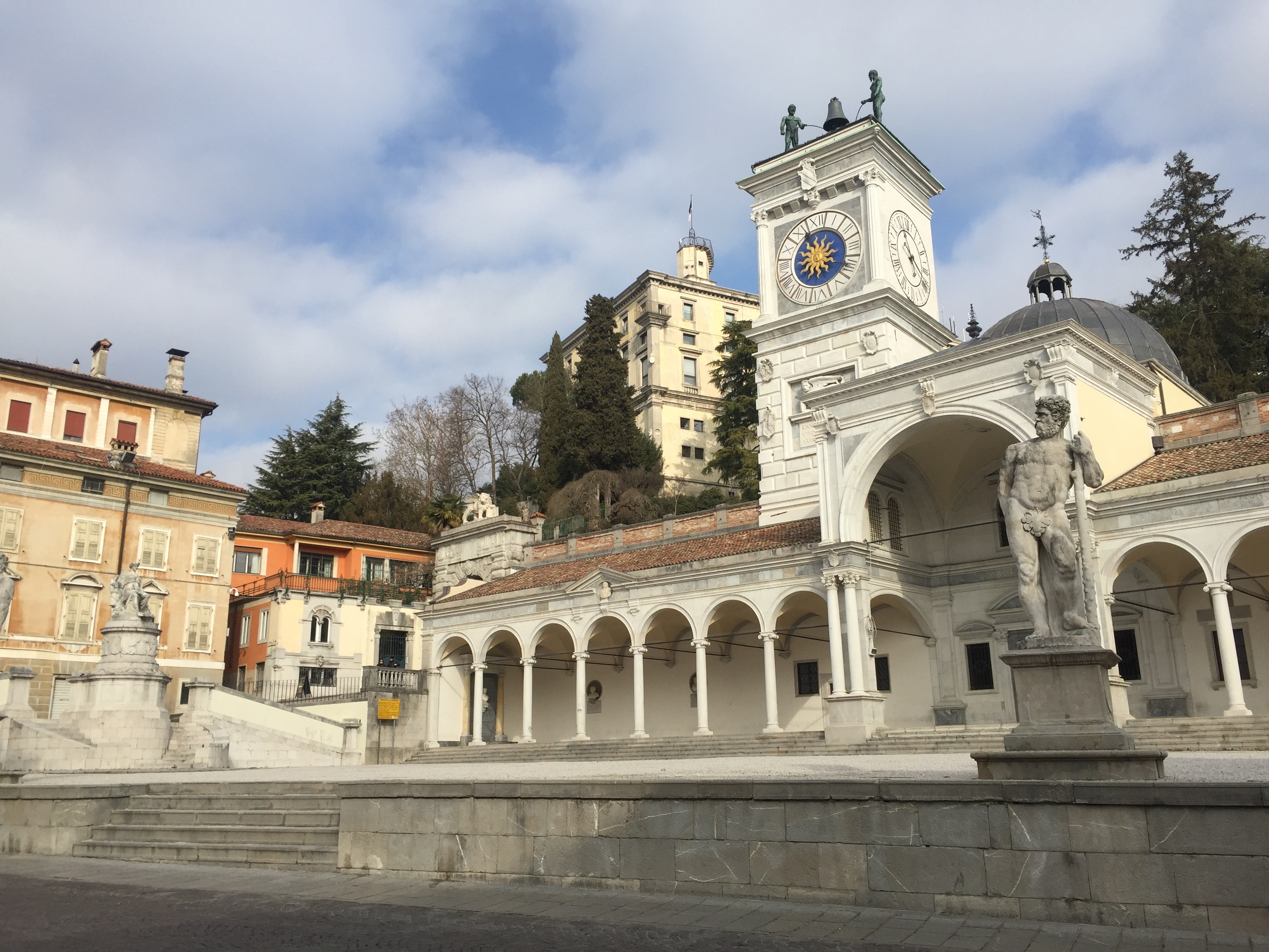 gids, rondleiding in Udine