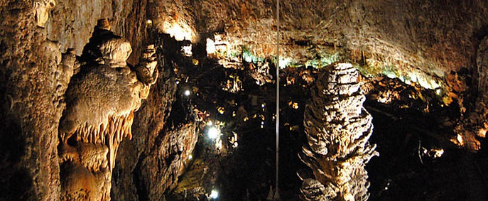The giant cave in Sgonico