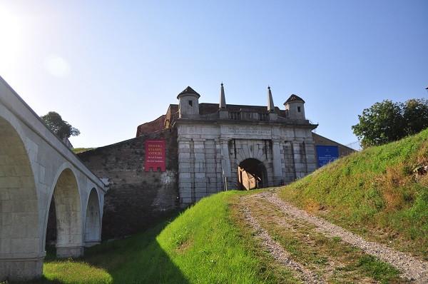De Udine poort van Palmanova