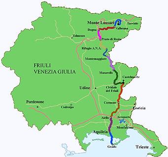 Een religieuze wandeling door Friuli Venezia  Giulia