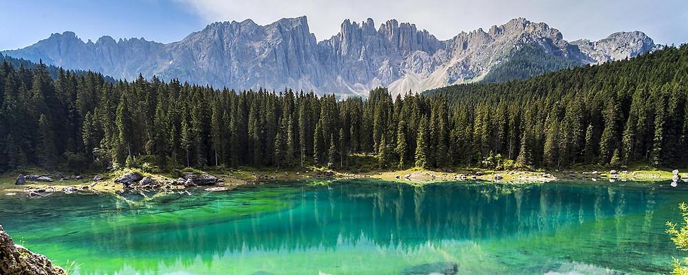 Het natuurpark 'Parco Naturale Dolomiti Friulane'