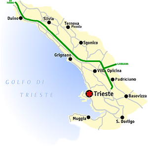 The province of Trieste