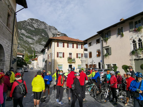 A cultural stop in Venzone