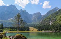 The Fusine lake