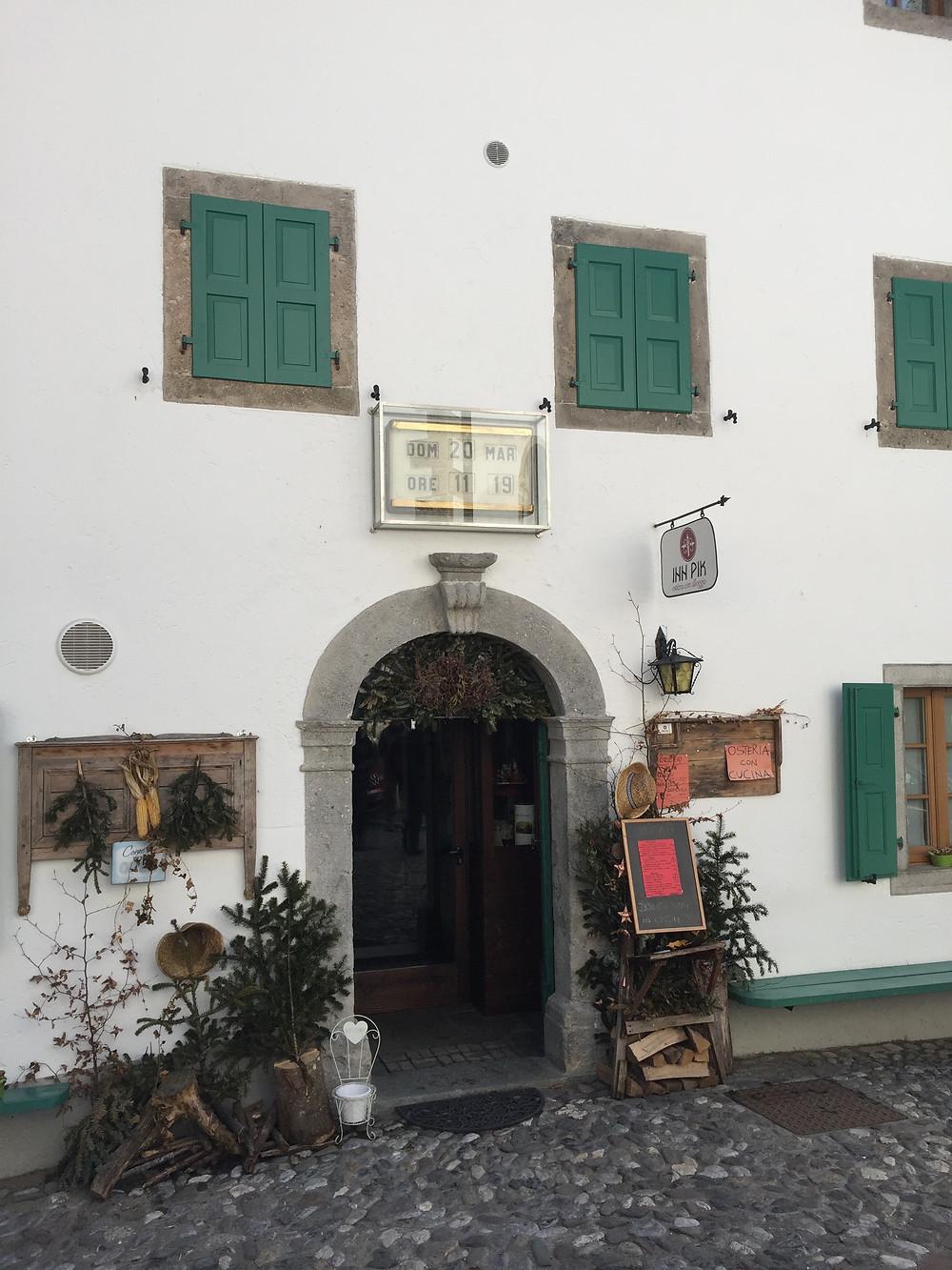 Het klokkenmuseum van Pesaris