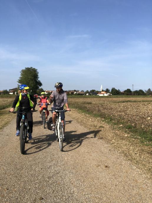 Mit dem Fahrrad von Udine nach Cividale