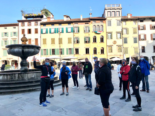 A cultural stop in Udine