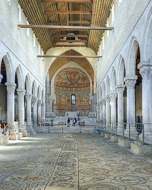 Inside of the Basilica