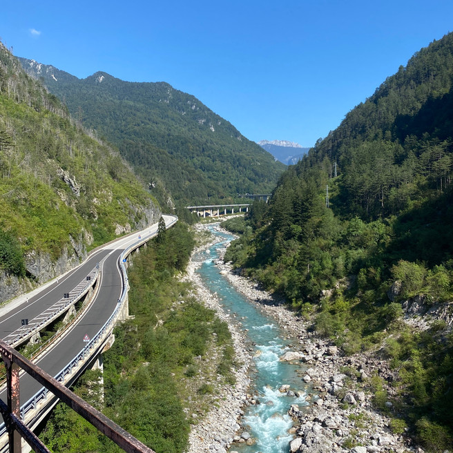 Alpe Adria cycle trail