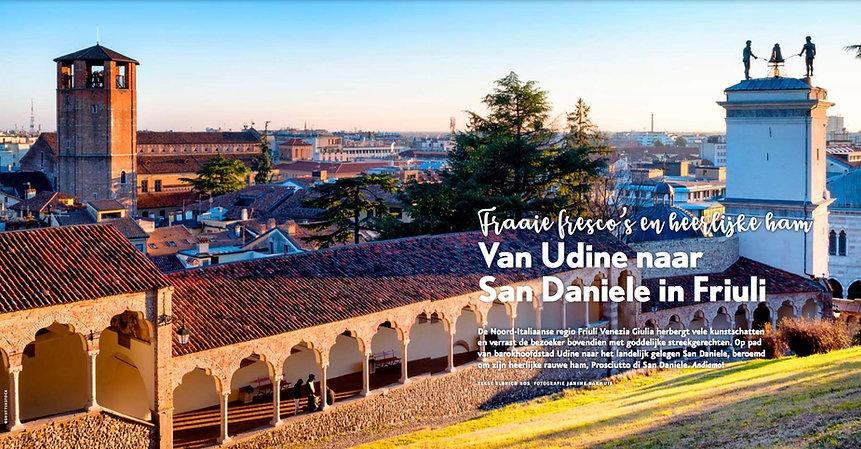 Artikel voor Italië Magazine over Udine en San Daniele