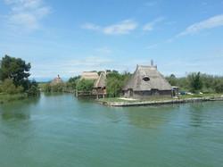 De vissersdorpjes in de lagune