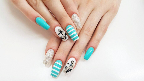 HOB SUMMER NAILART