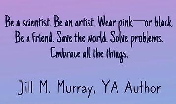 Jill M Murray YA Author