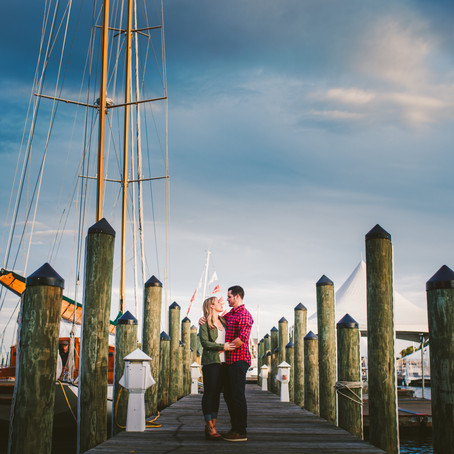 Devin & Kevin Engaged // Downtown Annapolis