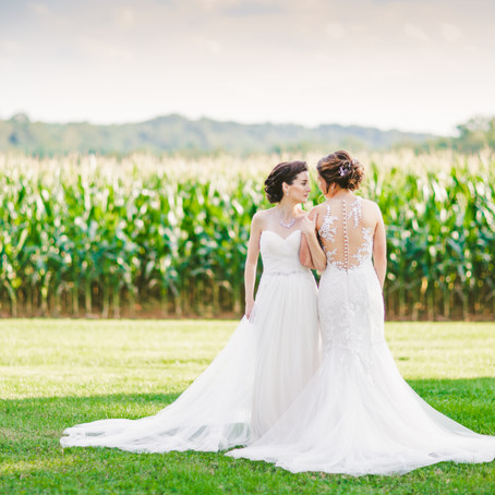 Ally & Lindsay | Richardson's Barn, Hydes MD