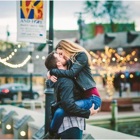 Krista & Jeff || Downtown Annapolis Engagement