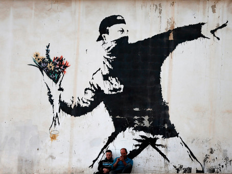 The Name Of Anonymous: Why Do People Hate Graffiti And Love Banksy.