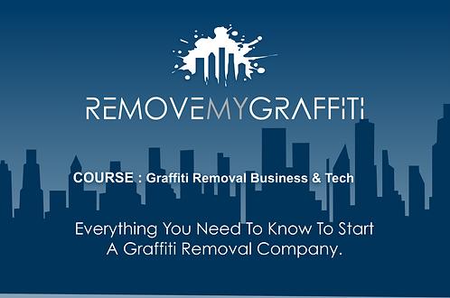 eCourse: Graffiti Removal Business & Tech