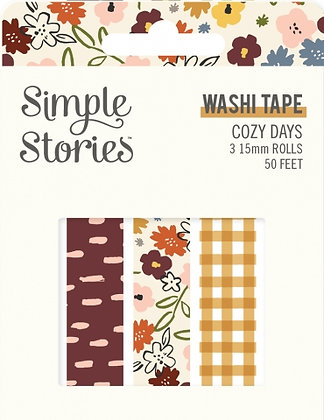 SIMPLE STORIES- COZY DAYS -WASHI TAPE