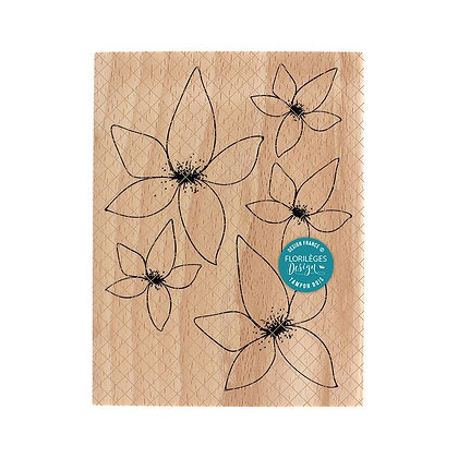 Florileges Design Timbro in legno Floralies