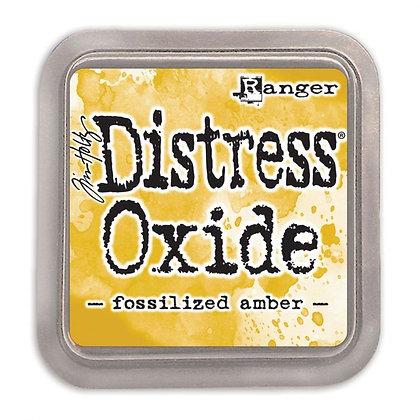 Ranger Ink  - Tim Holtz distress oxide Fossilized amber