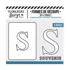 Florileges Design fustelle  lettera S  collezione A la lettre