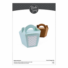 -PRODOTTO IN PREORDINE -Moda Scrap FUSTELLA - HEXAGON BOX