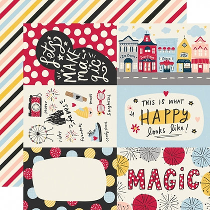 SIMPLE STORIES SAY CHEESE Main Street   4 x 6 ELEMENTS