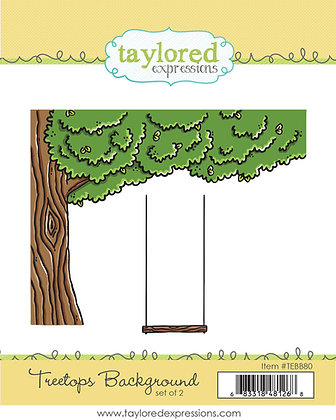 TREETOPS BACKGROUND TAYLORED EXPRESSIONS