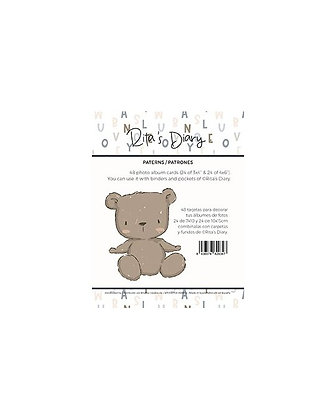 Rita Rita - Pequeno Panda Patrones Set di 48 tag