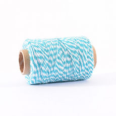 BAKERS TWINE 45 MT TURCHESE E BIANCO