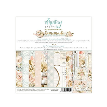"""Mintay Papers - pad 6 x 6 collezione"""" Homemade """""""