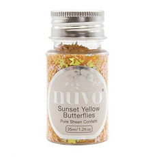 NUVO PURE SHEEN CONFETTI 35 ml SunsetYellow Butterflies