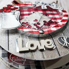 """TUTORIAL GRATUITO  IMMAGINI """" LOVE IN THE BOOK """""""