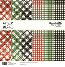 SIMPLE STORIES- JINGLE ALL THE WAY-SIMPLE BASIC KIT