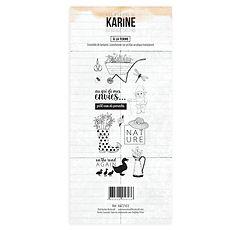"""Les Ateliers de Karine - Timbri clear """" A la ferme """""""