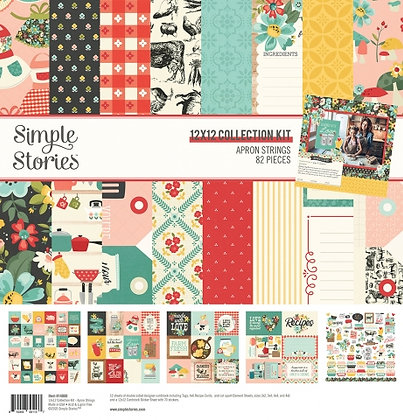 SIMPLE STORIES- APRON STRINGS  - COLLECTION KIT