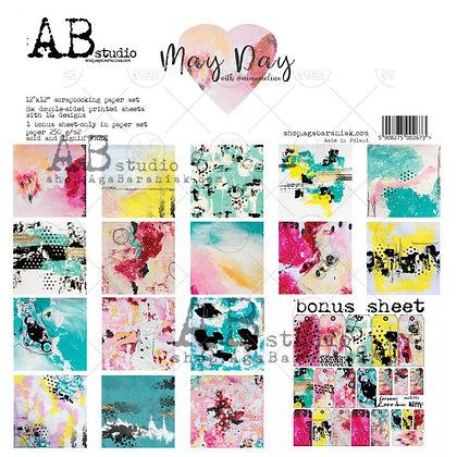 "AB STUDIO scrapbooking pad collezione "" May Day """